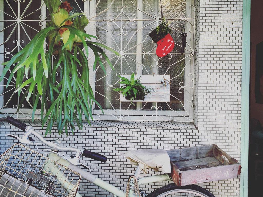 茉莉花園淡水工作室一角(目前已搬離,尋找新花園中)。圖片由茉莉提供。