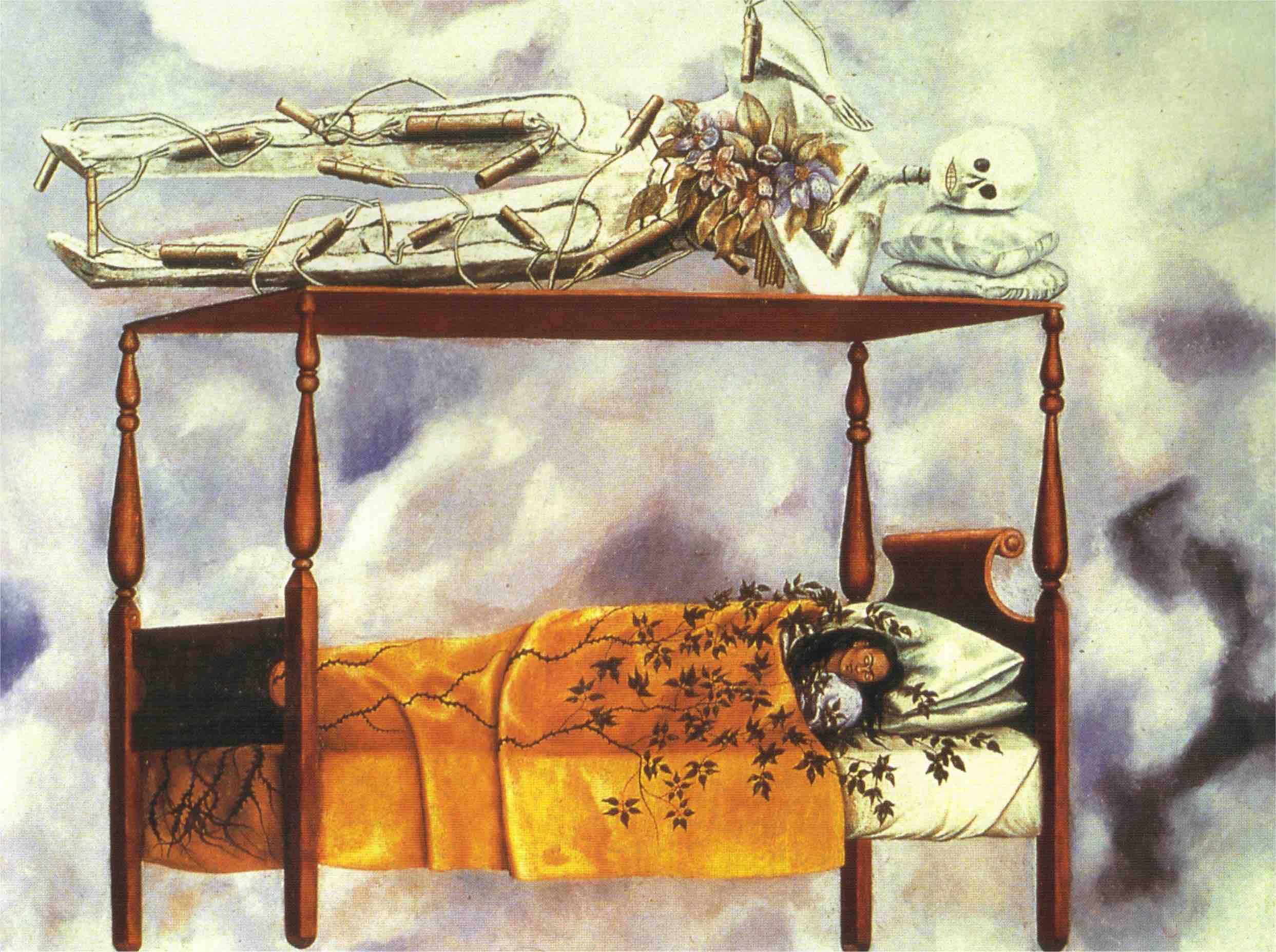 卡蘿,《夢》,1940。