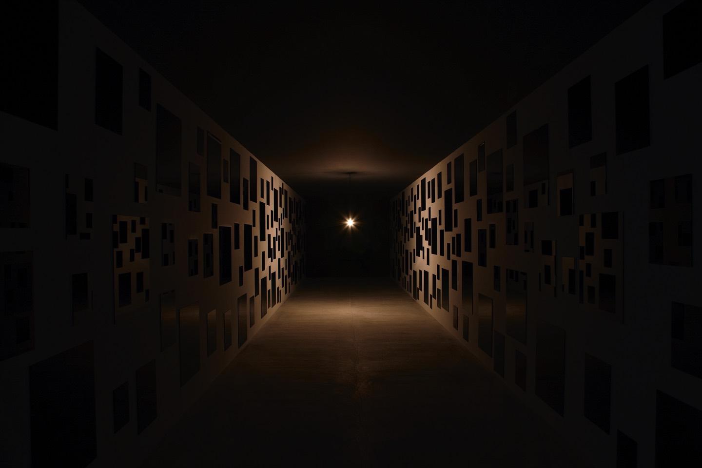 「心的檔案室」中的展覽室