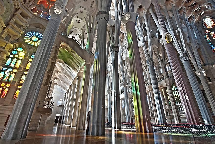 聖家堂內部,圖片:聖家堂官網