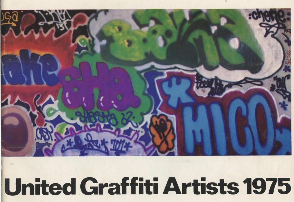 United Graffiti Artists 1975聯展畫冊封面